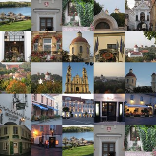 Photo montage of Vilnius pictures, copyright Nick Rosenthal